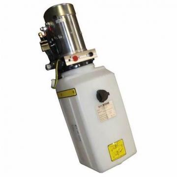 Pompe hydraulique manuel pompe à main simple effet 12cc réservoir 10 litres